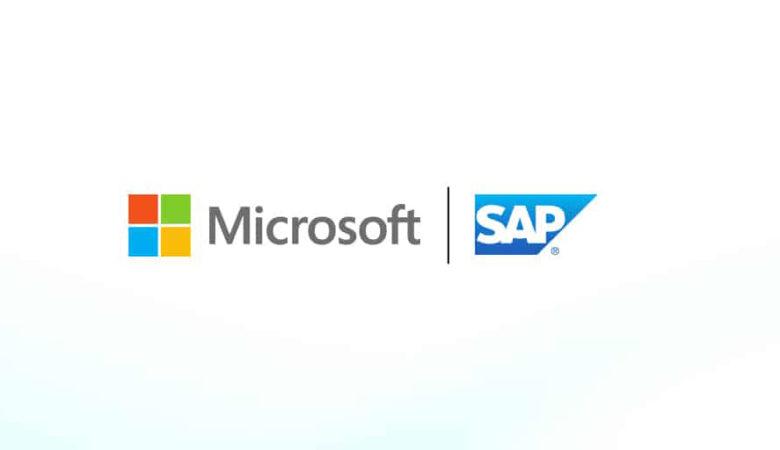 Logo Microsoft und SAP